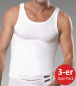 Mobile Preview: Conta 440-6081 Herren Unterhemd Single-Jersey weiss 3-er Sparpack